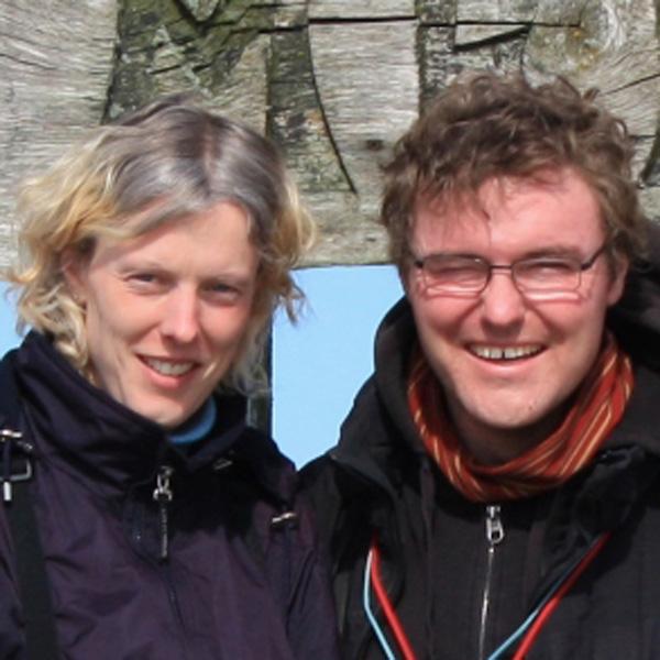 Nadine & Andreas Knipping, Beauftragte des Mellumrates für Mellum, © Mellumrat e.V.