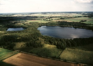 Luftbild Sager Meer  © Mellumrat/Clemens