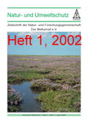"""Zeitschrift """"Natur- und Umweltschutz"""", Heft 1, 2002"""