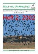 """Zeitschrift """"Natur- und Umweltschutz"""", Heft 2, 2002"""