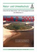 """Zeitschrift """"Natur- und Umweltschutz"""", Heft 2, 2003"""