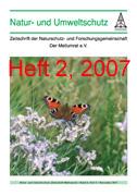 """Zeitschrift """"Natur- und Umweltschutz"""", Heft 2, 2007"""