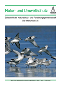 """Zeitschrift """"Natur- und Umweltschutz"""", Heft 1, 2008"""