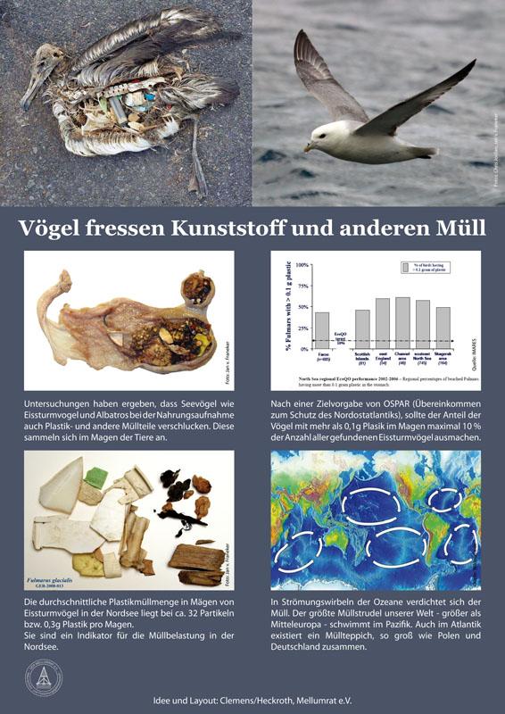 Müll am Strand - na und?, Poster 4 der Müllausstellung des Mellumrates
