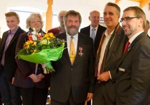 Dr. Thomas Clemens erhält den Verdienstorden © Mellumrat/Behrends