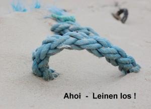 """Postkarte """"Ahoi - Leinen los !"""" © T. Clemens"""