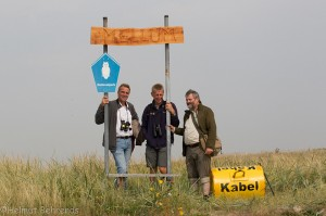 Umweltminister Wenzel, Peter Südbeck und Thomas Clemens © Mellumrat/Behrends
