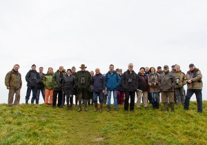Teilnehmer der Exkursion Langwarder Groden © Ruthop