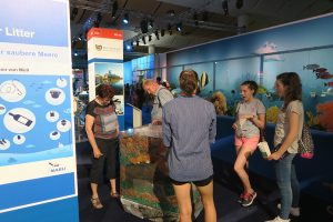 "Ausstellung ""Müll im Meer"", IdeenExpo Hannover 2017, Foto: Heckroth/Mellumrat"