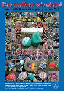 Poster 6 zur Müllausstellung des Mellumrates