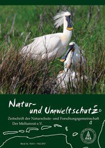 """Zeitschrift """"Natur- und Umweltschutz"""", Heft 1, 2017"""