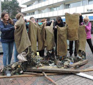 3. Wangerooger Müllsammelaktionstage 02.06.2018, Foto Cornelia Mähr