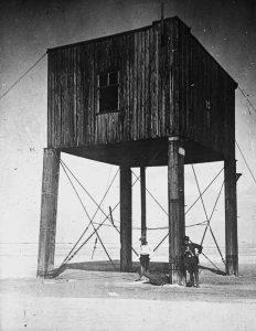 Kasten- bzw. Wohnbake Mellum 1898 -1943