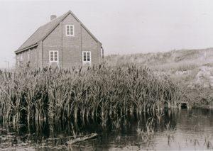 Mellum Station und Löschwasserteich 1951 © Mellumrat / Rittinghaus