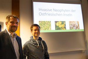 Dr. Holger Freund und Markus Prinz / Foto: Helmut Behrends