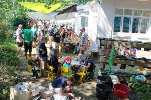 Das Gartenfest / Foto: Nationalpark-Haus Wangerooge, Harm Betzinger