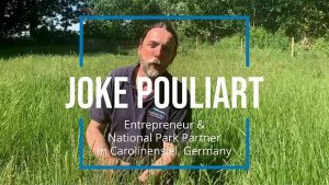 Interview mit Joke Pouliart Foto: Screenshoot