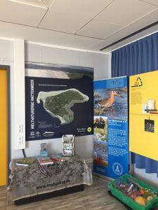 Ausstellung im Seminarraum des Borkumer Aquariums Foto M. Heckroth