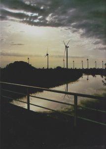 Landschaftsbild mit Windrädern Foto: N.Ahlers